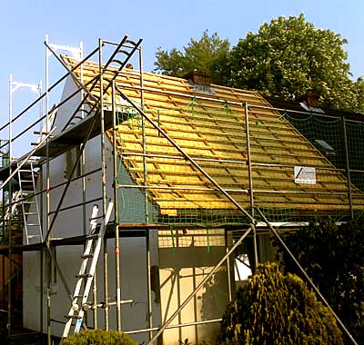 Zimmerei Schamper - Dachsanierung
