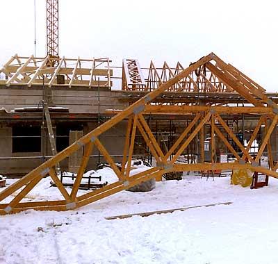 Zimmerei Schamper - Neubau